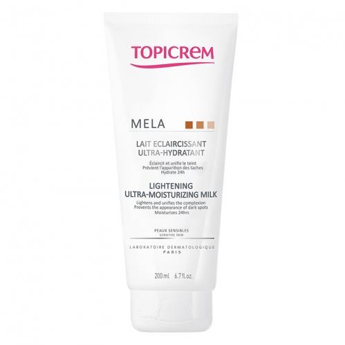 Topicrem ürünleri - Topicrem MELA Lightening Ultra Moisturizing Milk 200 ml