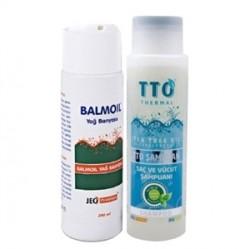 Tto Ürünleri - TTO Kuru Ciltler İçin Banyo Keyfi SET