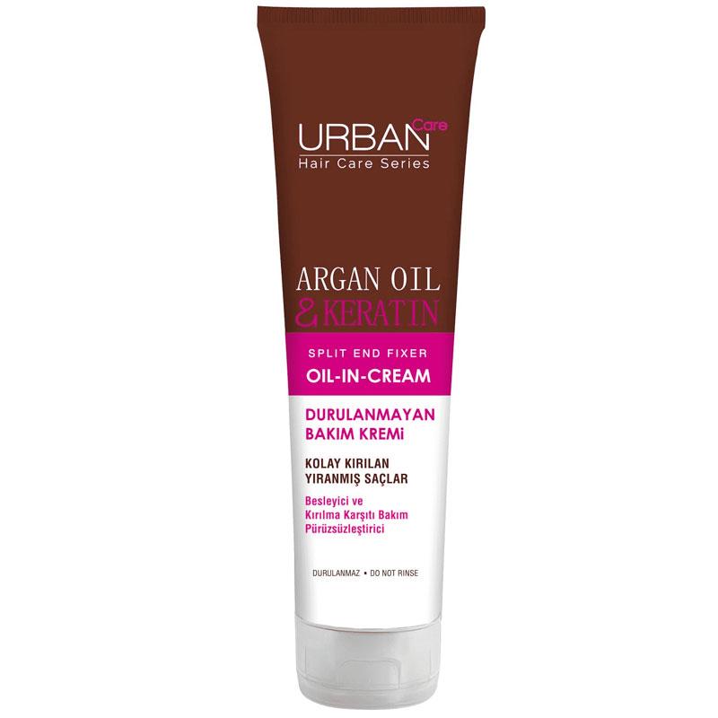 Urban Care Argan Oil And Keratin Durulanmayan Bakim Kremi 150 Ml
