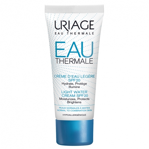 Uriage Ürünleri - Uriage Eau Thermale Light Water Cream Spf20 40ml