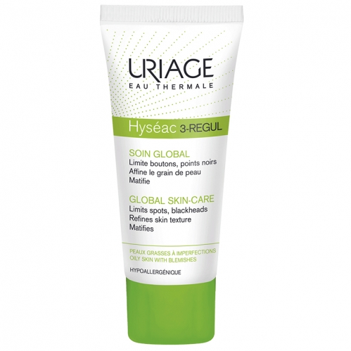 Uriage Ürünleri - Uriage Hyseac 3-Regul Global Skin Care 40ml