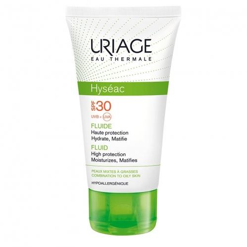 Uriage Ürünleri - Uriage Hyseac Fluide Spf30 Krem (Oil Free) 50ml