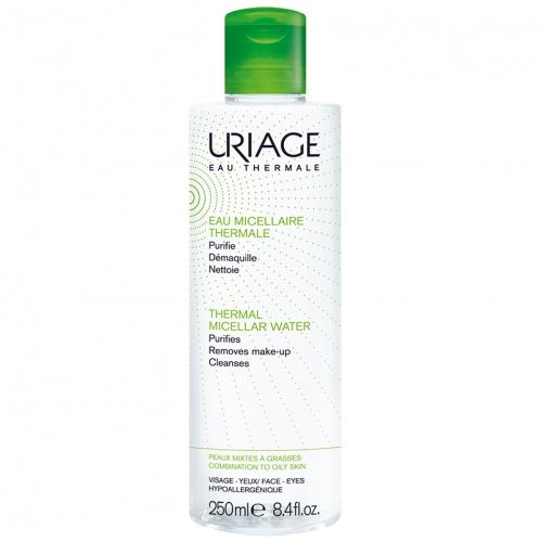 Uriage Ürünleri - Uriage Thermal Miceller Water PMG 250ml - Karma ve Yağlı Ciltler