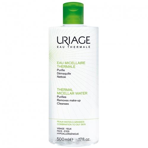 Uriage Ürünleri - Uriage Thermal Miceller Water PMG 500ml - Karma ve Yağlı Ciltler