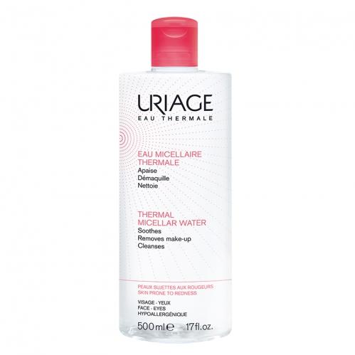 Uriage Ürünleri - Uriage Thermal Miceller Water (Kızarıklık Eğilimli Ciltler) PSR 500ml