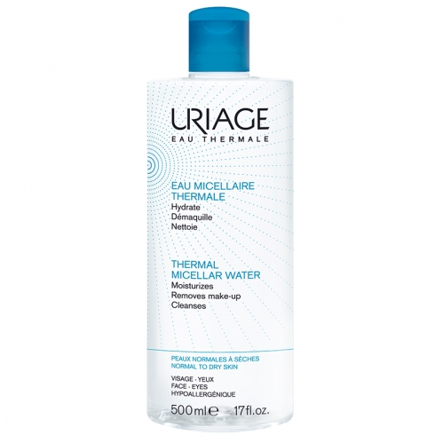 Uriage Ürünleri - Uriage Thermal Miceller Water PNS 500ml - Normal ve Kuru Ciltler