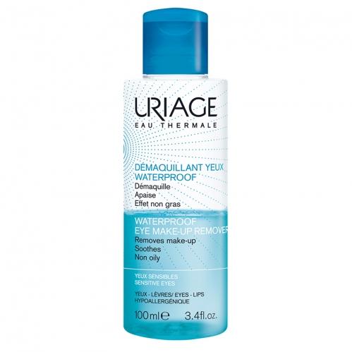 Uriage Ürünleri - Uriage Waterproof Eye Make-Up Remover 100ml