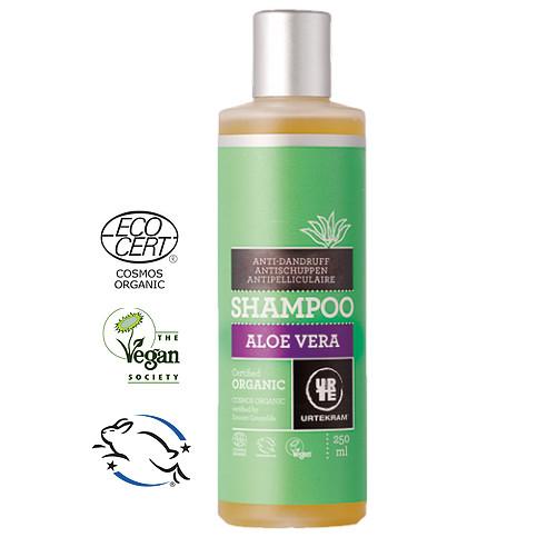 Urtekram - Urtekram Organik Aloe Vera Özlü Kepek Karşıtı Şampuan 250ml