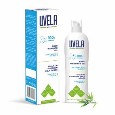 Uvela Baby Massage Oil 150ml