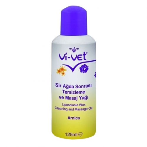 Vi-vet - Vi-vet Ağda Sonrası Temizleme Ve Masaj Yağı Arnica 125ml