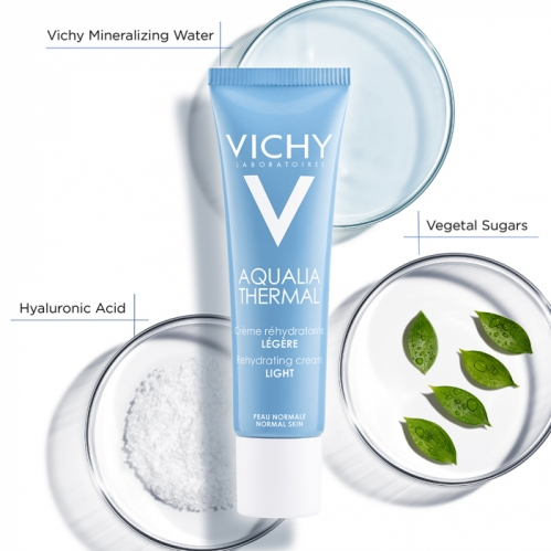Vichy Aqualia Thermal Rehydrating Cream Light 30 ml - Thumbnail