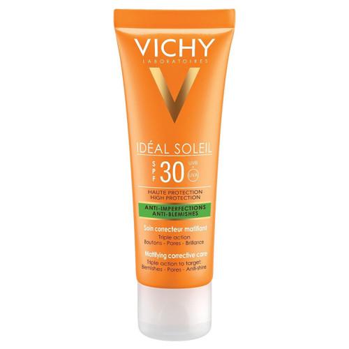 Vichy - Vichy Capital Soleil Spf30+ Mattifying Corrective Care Cream 50ml