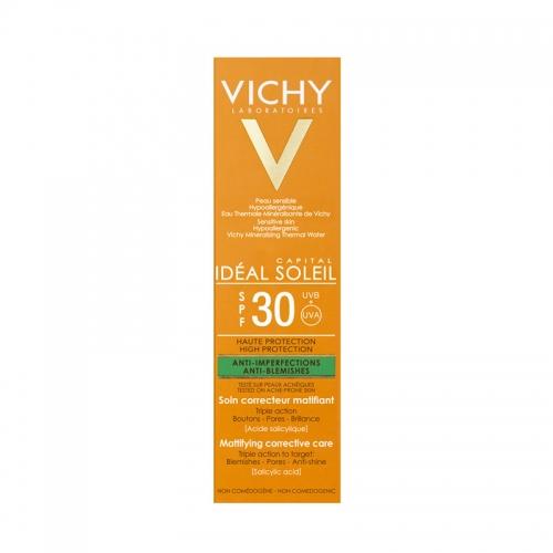 Vichy Capital Soleil Spf30+ Mattifying Corrective Care Cream 50ml