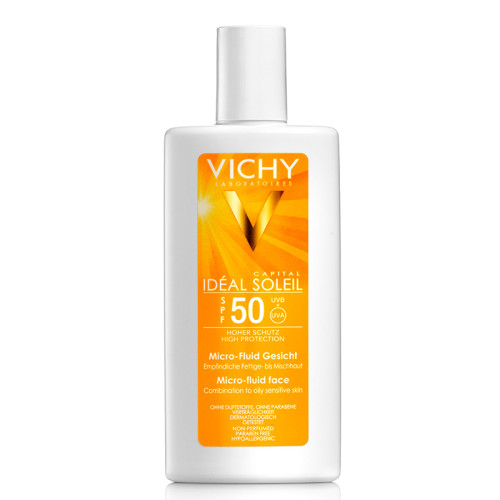 Vichy - Vichy Ideal Soleil Spf50 Micro Fluid Face 40ml