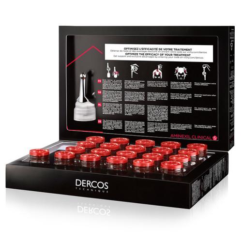 Vichy Dercos Aminexil Clinical-5 21x6ml - Erkekler - Thumbnail