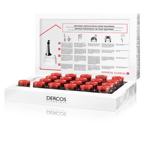 Vichy Dercos Aminexil Clinical-5 21x6ml - Woman - Thumbnail