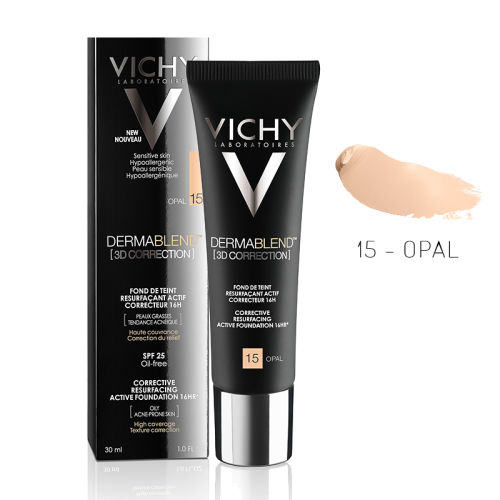Vichy Dermablend 3D Correction SPF25 Oil-Free Foundation 30ml