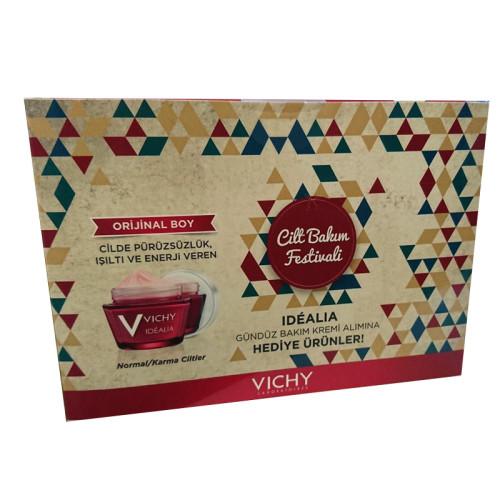 Vichy - Vichy Idealia Cilt Bakım Festival Kiti - Normal ve Karma Ciltler
