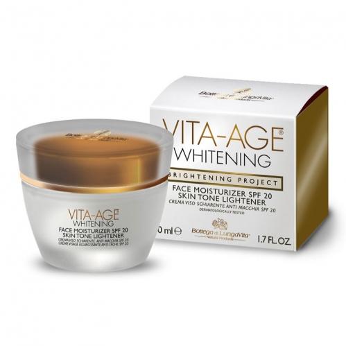 Dead Sea Spa Magik Ürünleri - Vita Age Whitening Face Moisturizer SPF20 50 ML
