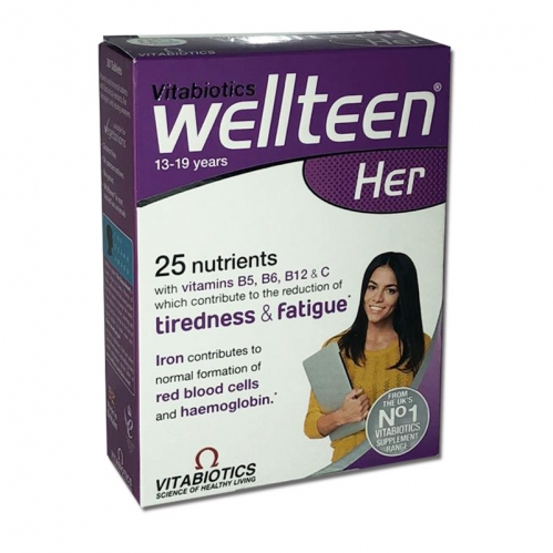 Vitabiotics - Vitabiotics Wellteen Her 13-19 years 30 Tablets