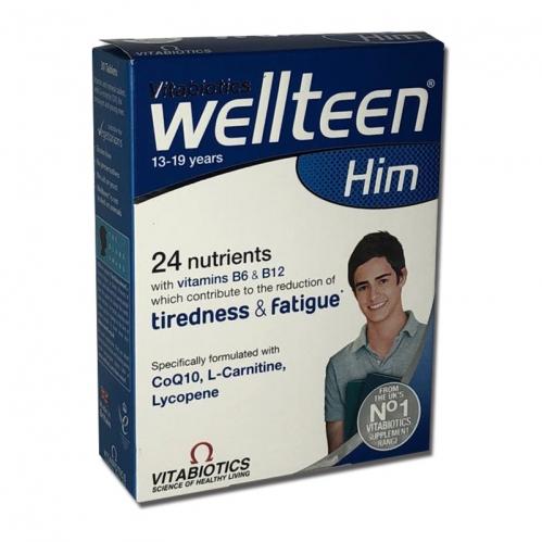 Vitabiotics - Vitabiotics Wellteen Him 13-19 years 30 Tablets