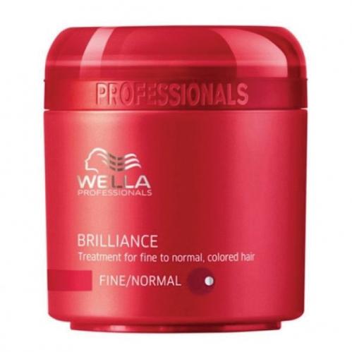 Wella Professionals - Wella Professionals Brilliance İnce Telli Normal Boyalı Saçlar İçin Maske 150ml