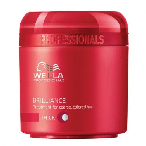 Wella Professionals - Wella Professionals Brilliance Kalın Telli Boyalı Saçlar İçin Maske 150ml