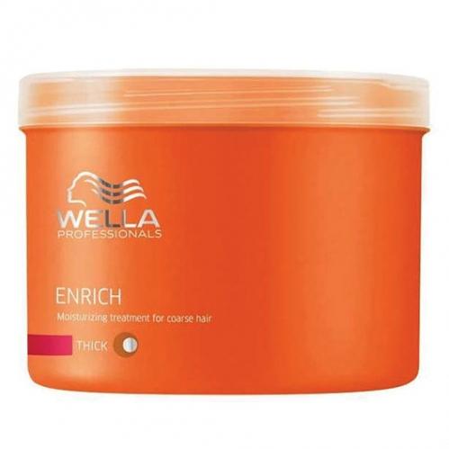 Wella Professionals - Wella Professionals Enrich Kalın Telli Saçlar İçin Nemlendirici Bakım Maskesi 500ml