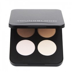 YoungBlood Mineral makyaj - YoungBlood Pressed Mineral Eyeshadow Quad 4lü Far