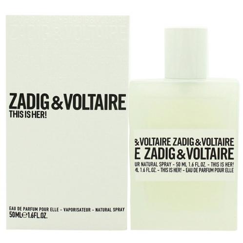 Zadig & Voltaire - Zadig & Voltaire This Is Her Edp Bayan Parfüm 50ml