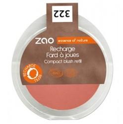 Zao Organic Makyaj - Zao Organic Compact Blush Refill 9gr