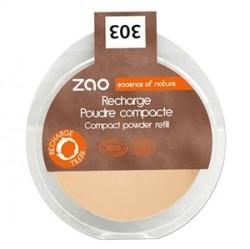 Zao Organic Makyaj - Zao Organic Compact Powder Refill 9gr