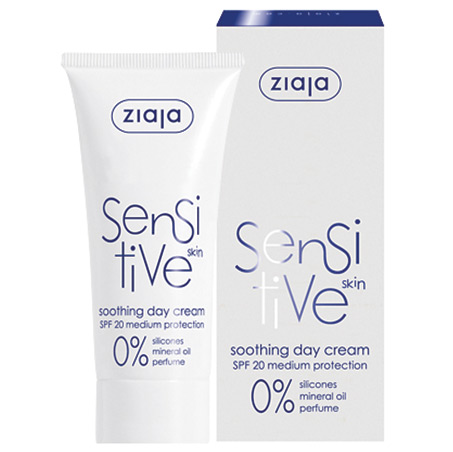 ZIAJA - ZIAJA Sensitive Soothing Day Cream 50ml