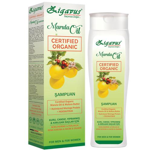 Zigavus Ürünleri - Zigavus Organik Marula Şampuan 250ml